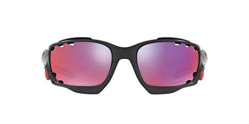 Oakley Herren Vented Racing Jacket Oo9171 917137 62 Mm Sonnenbrille, Schwarz (Matte Black/Prizmroad), 62