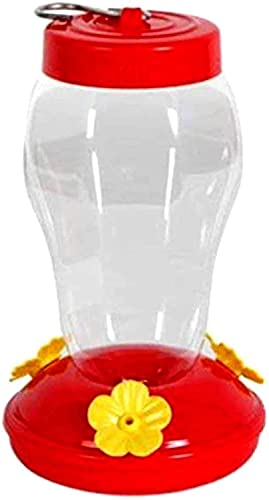 Comedero de colibrí al aire libre suspendido comedero de colibrí con 3 puertos de alimentación