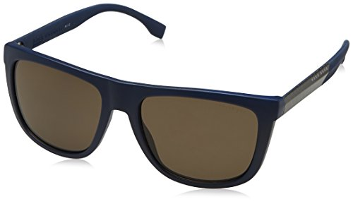 Hugo Boss Boss 0834/S SP HWQ Gafas de sol, Azul (Bluette Crbnblue/Bronze Pz), 56 Unisex-Adulto