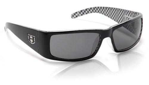 polaris occhiali Hoven One - Occhiali da sole polarizzati A scacchi nero/grigio polare. Etichettalia unica