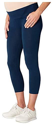 Esprit Maternité Legging Coton/mélange Femmes Mode de Grossesse Bas/Collants m84101 - Noir (7/8 Legging), S/M