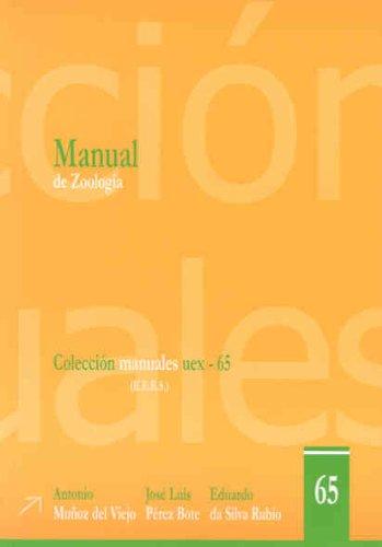 Manual de Zoología: 65 (Manuales UEX)