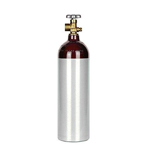 New 22 cuft Nitrogen Tank Beer Gas CGA580 Valve Fresh Certification