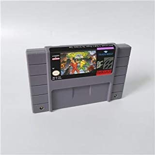 Game card - Game Cartridge 16 Bit SNES , Game Battletoads & Double Dragon - Action Game US Version English