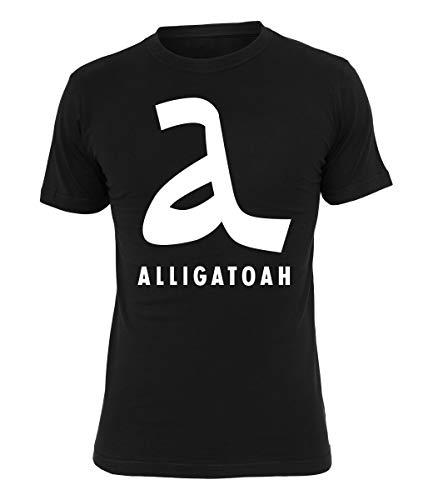 Alligatoah T-Shirt Logo 2, Farbe:schwarz, Größe:XL