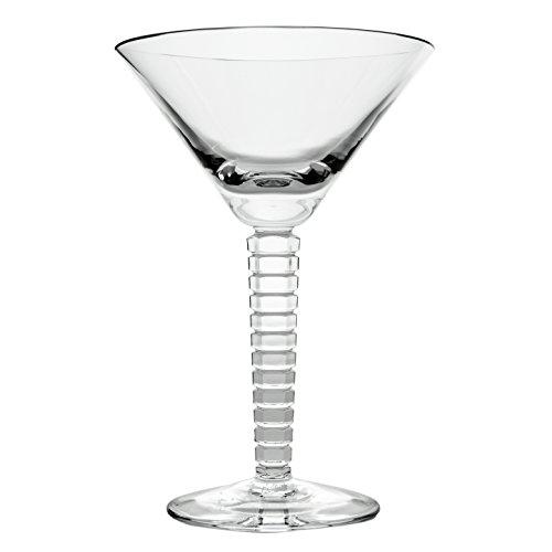 Cristal de Sèvres Vertigo Set de Copas Martini, Cristal, 13x13x20 cm, 2 Unidades