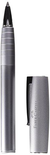 Faber-Castell 149205 - Roller Loom Metallic con cuerpo lacado metálico con forma cónica ergonómica, color plata