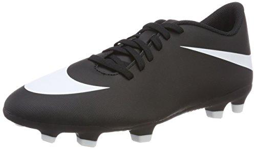 Nike Herren Bravata II FG Futsalschuhe, Schwarz (Black/White-Black 001), 44.5 EU