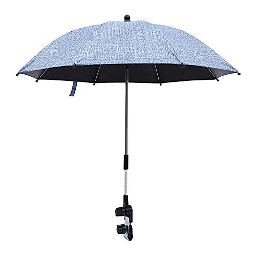 Abaodam Paraguas de protección UV al aire libre Paraguas de coche de los niños paraguas paraguas de bebé suministros