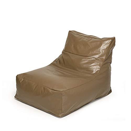 KDOAE Bolso de Frijoles Bolsa de Frijoles Grande Sofá Sofá Sofá Relleno Bolsa de Frijoles de Adultos Saco de tumbonas Home Impermeable para Adultos y Niños (Color : Brown, Size : One Size)