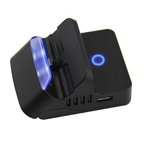 Sixcup® console de jeux pour Nintendo Switch HDMI Convertisseur de base TV portable console de jeux pour enfants Noir