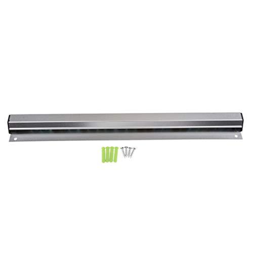 Bill Holder 8 Length 10-24 inch/25-60cm Aluminium Alloy Wall Mountable Tab Order Grabber Bill Ticket Holder for Kitchens Restaurant Cafes Pubs Bars - Silver, 40cm