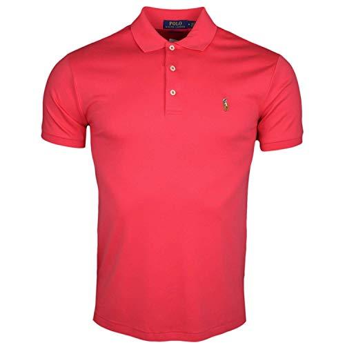 Ralph Lauren Poloshirt, kurzärmelig, Fuchsia Gr. Medium, rot