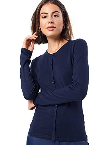 ICHI MAFA O CA Chaqueta, Azul (14044 Total Eclipse), XL para Mujer