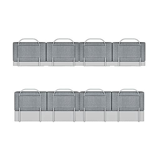 WYYY Bed Surrounds Cots Protection Cot Rails Suitable For Cots, Parents' Beds(Size:200CM,Color:Gray)