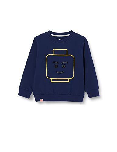 LEGO Jungen MW Sweatshirt, 590 Dark Navy, 98