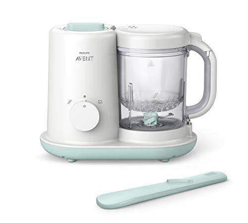 Philips AVENT SCF862/02 - Preparatore per alimenti per bambini, colore: Bianco
