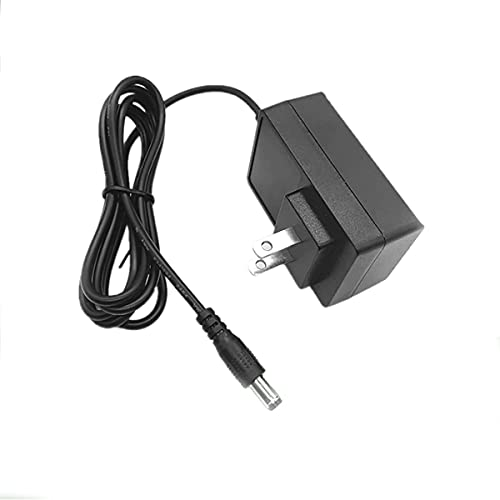 Xunguo AC-DC Adapter for Dymo Letratag Label Maker Printer 9V 2A Power Supply Cord Charger PSU