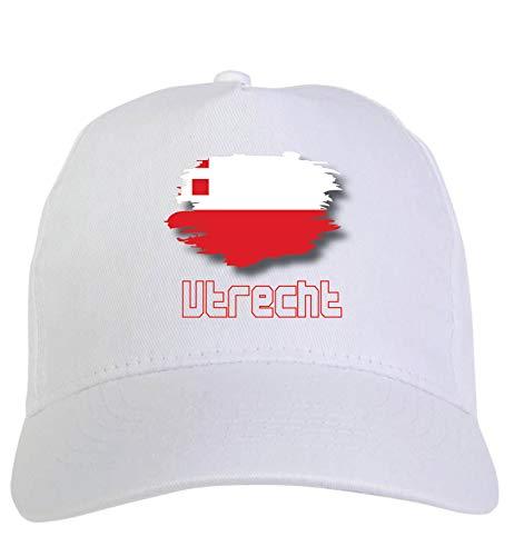 Typolitografie Ghisleri Cap wit Utrecht Holland vlag klittenbandsluiting 121