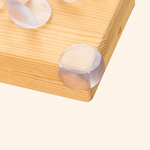Baixinda 12 piezas protector esquinas bebe protectores esquinas bebes protector muebles bebe,para las esquinas de mesas y muebles, supergrueso, suave transparente, fileteado.