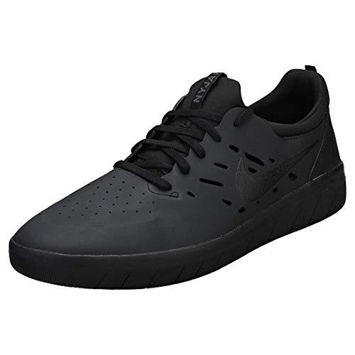 Nike Unisex-Erwachsene Sb Nyjah Free Skateboardschuhe, Schwarz (Black/Black/Black 003), 40 EU