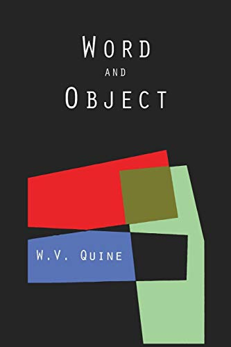 Word and Object (Studies in Communication)