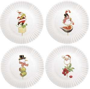 Mary Lake Thompson Holiday Plate Clearance SALE Limited Popular shop is the lowest price challenge time Melamine Appetizer