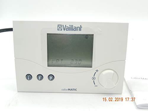 Vaillant calorMATIC 230 Raumtemperatur