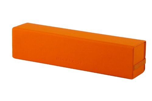 Moleskine ER1MCN1 - Estuches duros para bolígrafos y lápices, color naranja cadmio