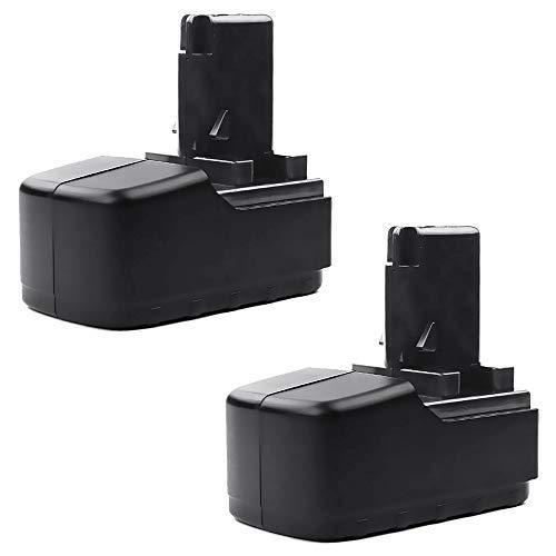 CELLONIC 2X Batería Premium 15.6V, 3Ah, NiMH Compatible con Metabo BSP 15.6Plus, BST15.6 Plus, BST 15.6 Plus bateria de Repuesto 6.02260.00, 6.02276.51, 6.02293.50, 6.02307.51, 6.31738 Pila