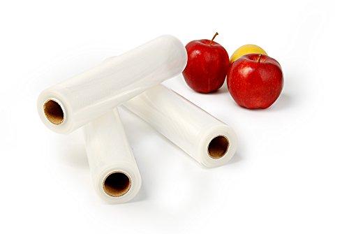 Vakuumiergerät Folienschweissgerät Foodlocker Vakuumierer + Ersatzfolien Einzeln oder im Set 110 Watt Folien 28x300/20x300 (Folien)