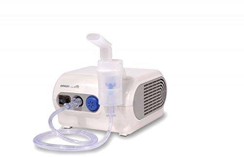 Omron NE-C28P - Nebulizador compresor, color blanco 🔥