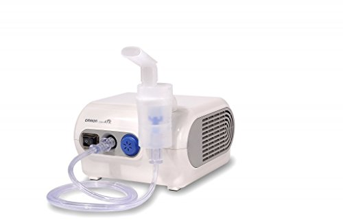Omron NE-C28P - Nebulizador compresor, color blanco ⭐