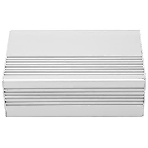 Caja de Caja electrónica, Caja de Aluminio Brillante Superficie de Metal ordenada para Caja de Conexiones para reemplazar la Antigua para Placa de Circuito PCB