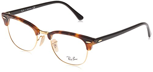 Luxottica S.p.A. Ray-Ban Unisex-Erwachsene 0rx 5154 5494 49 Brillengestell, Braun (Brown Havana)