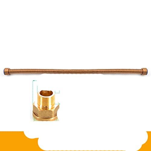 mangueras de acero inoxidable inodoro agua fría y caliente tejida 1/2 '3/8' manguera de plomería, calentador de baño conectar mangueras de ducha corrugadas-c