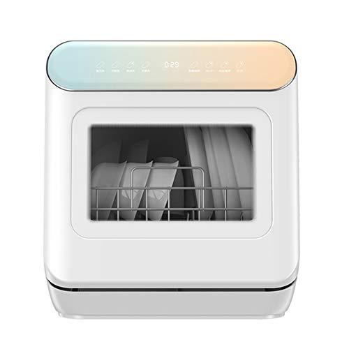 OFAY Portable Dishwasher, Smart Desktop, Free Installation, Household Dishwasher, Independent Automatic Dish Washing Machine, 8 Program Control