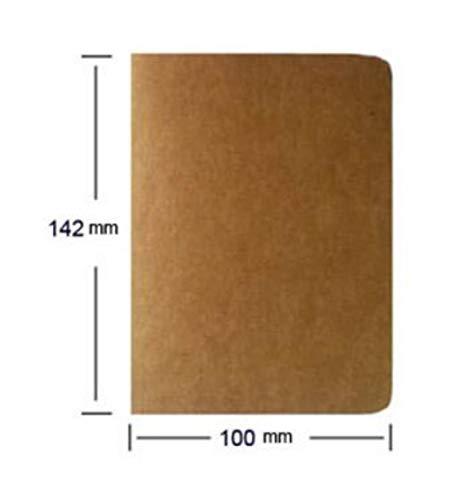 Heng koeienhuid papier schetsboek Bullet Journal schattig Notebook papier wekelijkse Planner accessoires briefpapier dagboek agenda reizen, 14 x 10 cm