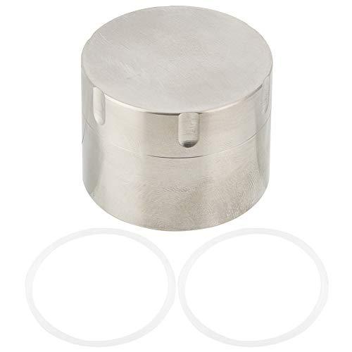 Zer One titanium legering pille tablet tas waterdicht draagbare overlevingsplaat container voor geneeskunde thee snoep