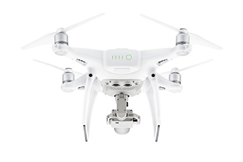 DJI Phantom 4 Pro - Drohne mit Videoübertragungsreichweite von 7 km, Videos bei 60 fps oder H.265 4K Videos bei 30 fps, beides mit einer Rate von 100 Mbit/s. - Weiß