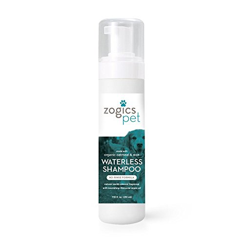 Zogics Pet No-Rinse Waterless Dog Shampoo