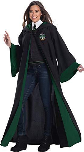 XYFW Disfraz De Halloween Disfraz De Estudiante Slytherin De Lujo para Adultos, Gran Mascarada De Cosplay, Tamaño Completo,XL