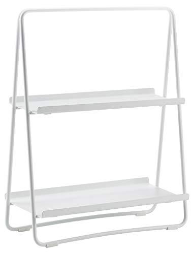 Zone Denmark A-Table Kleines Regal, Standregal aus Metall, 43 x 23 x 58 cm, Weiß