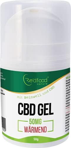 Redfood CBD Gel – Sportgel wärmend...