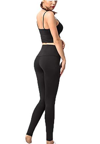 cxzas852 Pantaloni da Bodybuilding Elastici Pantaloni da Yoga Elastici Pantaloni da Allenamento a Compressione ad Asciugatura Rapida Pantaloni da Yoga a Compressione ad Asciugatura Rapida