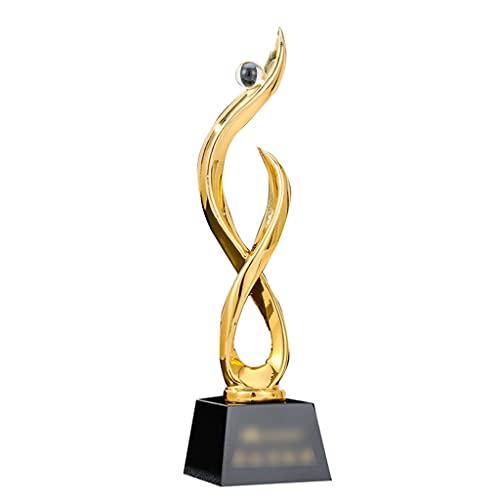 Trofeos de Alta Gama reuniones anuales Personalizados premios destacados para el Personal y los Estudiantes Letras Metal
