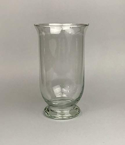 Aars International Decor Vase en Verre. Hauteur : 25 cm.