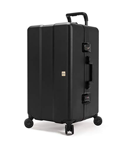 Buy Bargain OUMOS Luggage-Double Proof Series CONTAINER, Double Black S-312