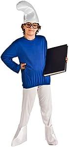 Disfraz de Duende Azul Patucos infantil A-(3/5 años)