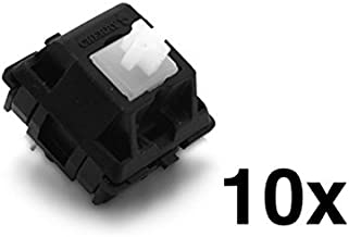 Cherry MX Clear Keyswitch (10 pack) - MX1AC1NN | Plate Mounted | Tactile Bump |